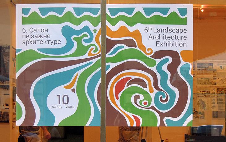 The 6th Landscape Architecture Exibition, Belgrad, Serbia